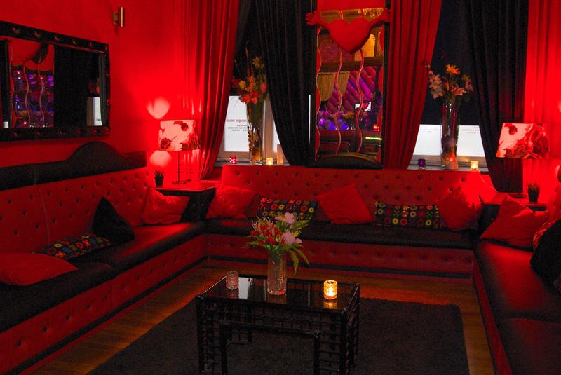 Espace Lounge du club Quinze à Bruxelles
