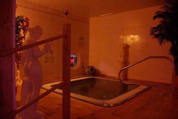 Jacuzzi du Divin Sauna
