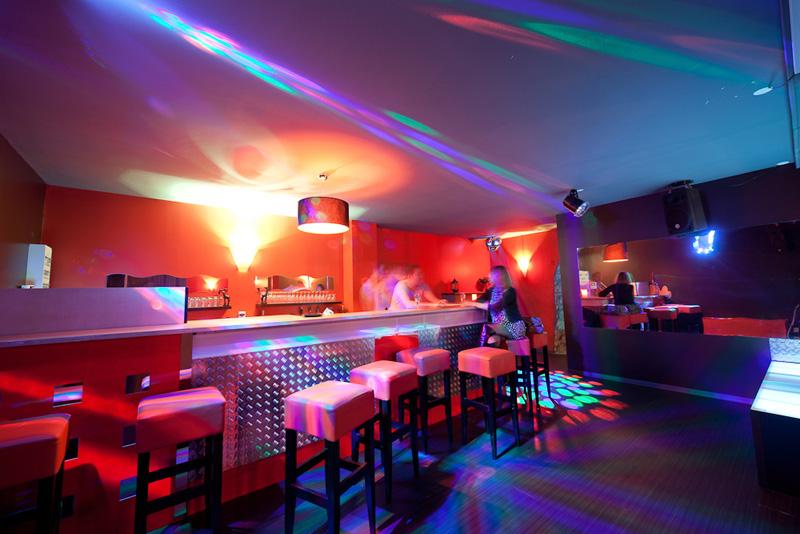 Bar du club Espace Glam
