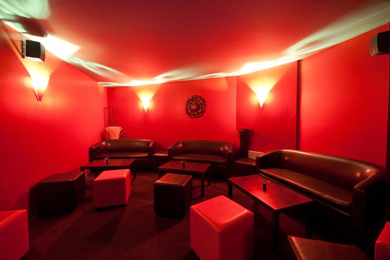 Espace lounge du club Espace Glam