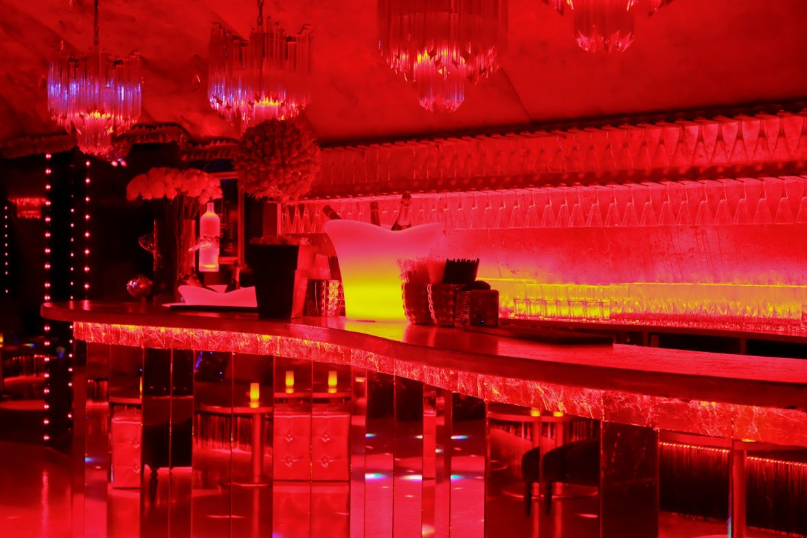 Bar du club Les Chandelles