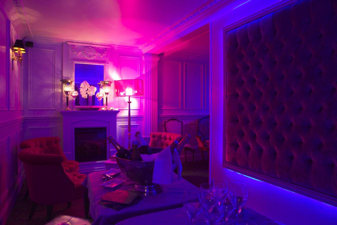 Espace Lounge du club Les Chandelles