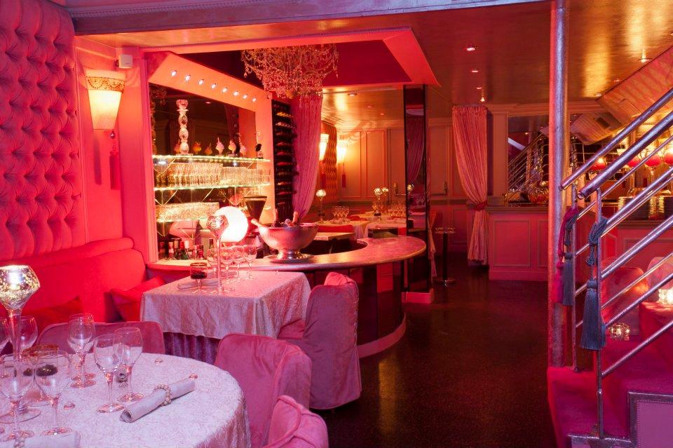 Restaurant du club Les Chandelles
