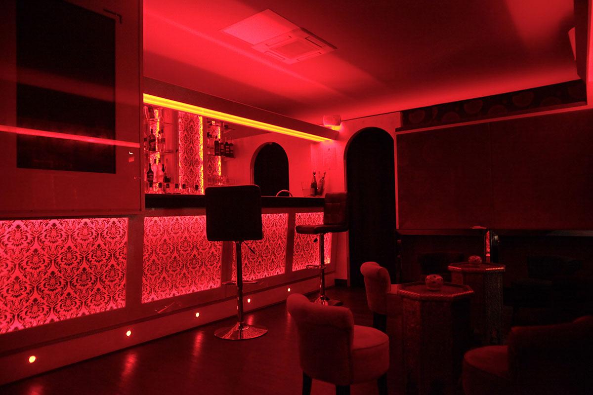 Bar du club privé Rituel Foch à Paris