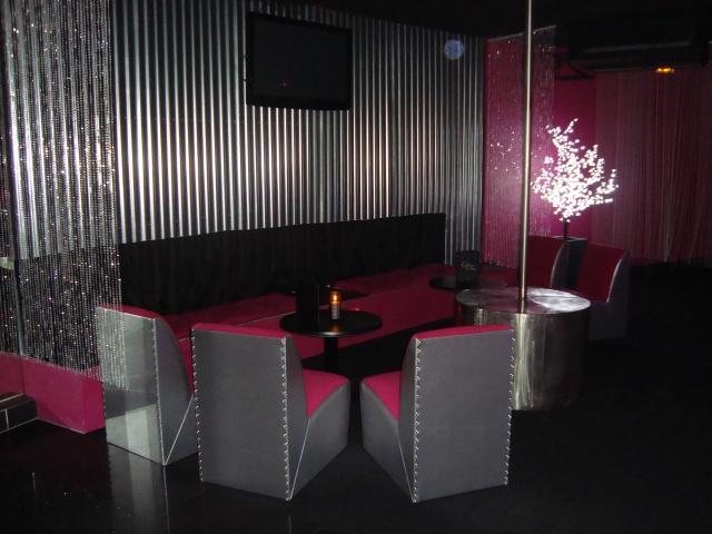 Espace lounge du Rosebud Club