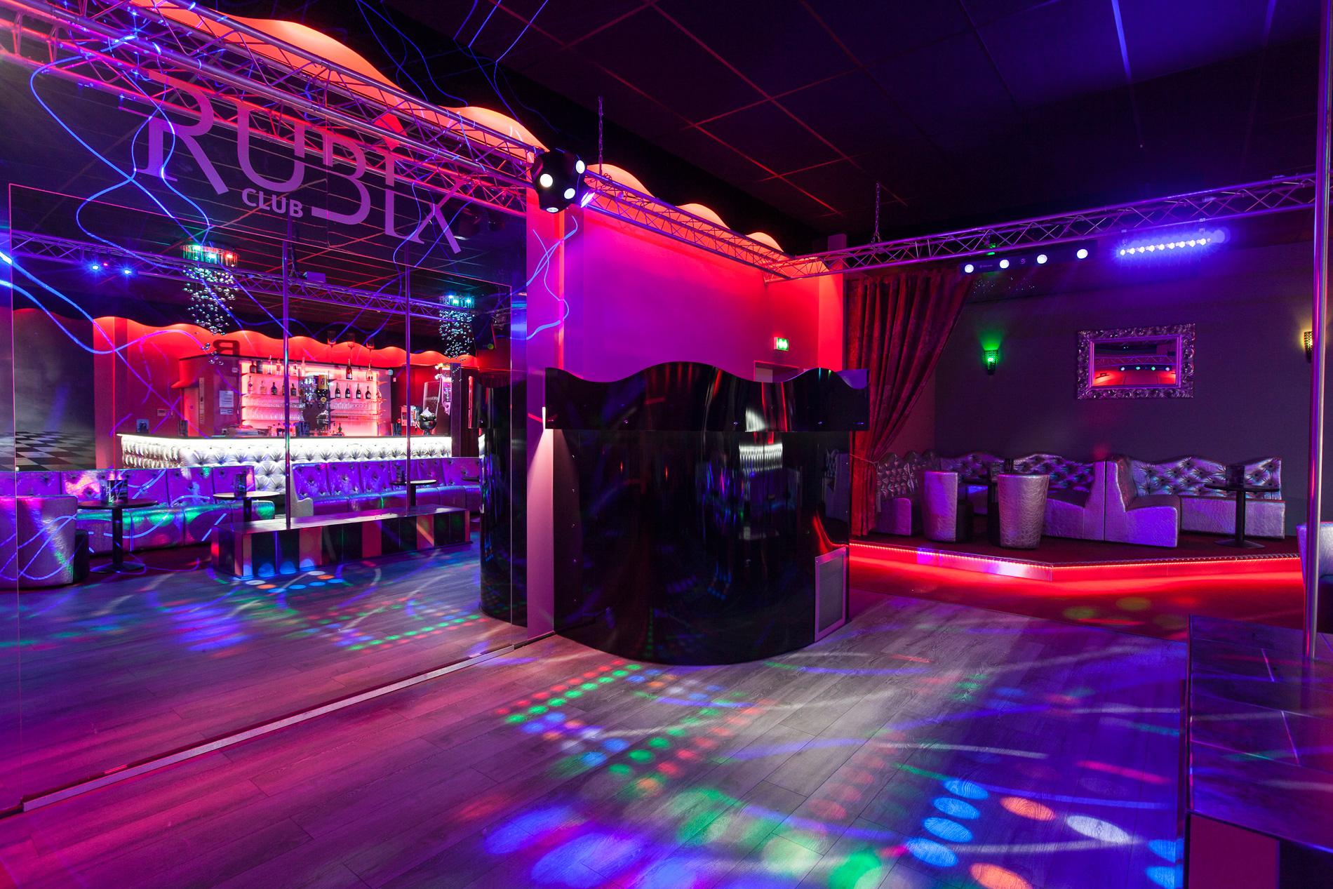 Piste de danse du Rubix Club