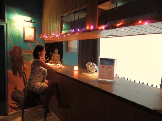 Bar du sauna club libertin l'Exotika