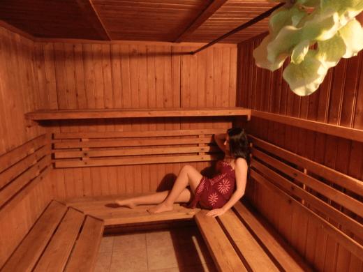 Sauna du club libertin l'Exotika